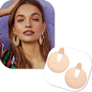 Kendra Scott Diane Statement Earrings In Rose Gold
